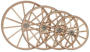 Wood Wagon Wheels For Sale